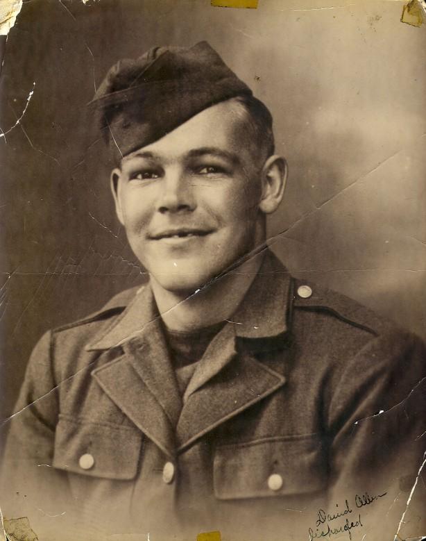 David Leroy Allen WWII