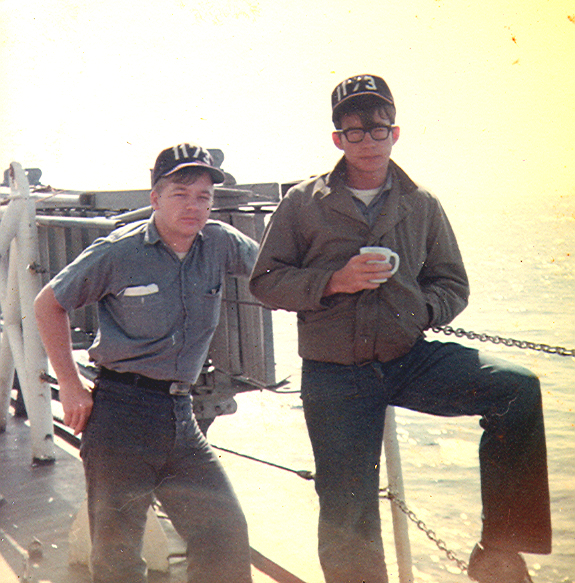 Coffee Break  USS Suffolk County (LST 1173)  1967